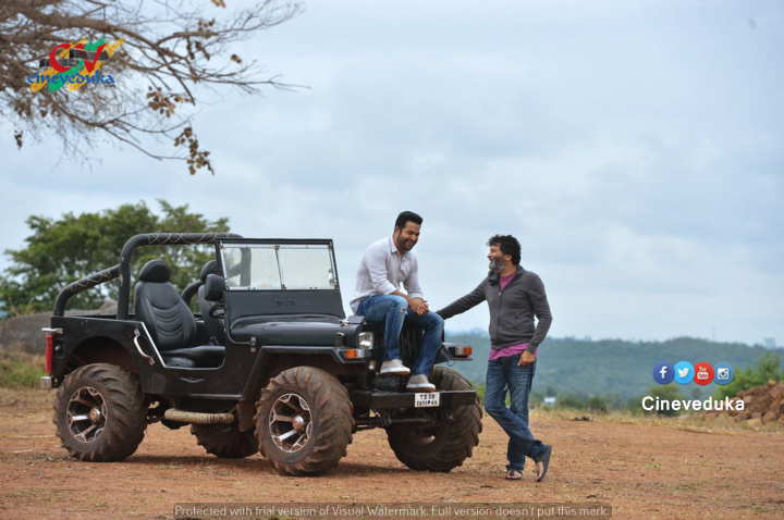 NTR Aravinda Sametha Working Still 1