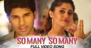 Okka Kshanam Full Video Songs , So Many So Many Full Video Song, Allu Sirish, Surbhi, Seerat Kapoor