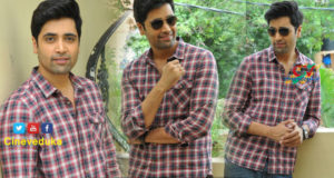 Adivi Seshu Interview stills