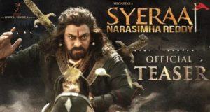 Sye Raa Narasimha Reddy Teaser, Chiranjeevi, Ram Charan, Surender Reddy, Konidela Production