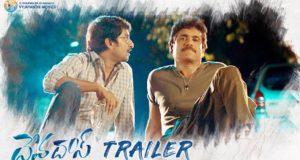 Devadas Official Trailer, Akkineni Nagarjuna, Nani, Rashmika, Aakansha Singh, Sriram Aditya