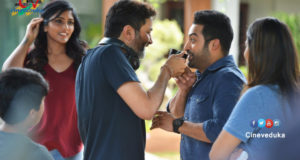 NTR Aravinda Sametha Working Stills
