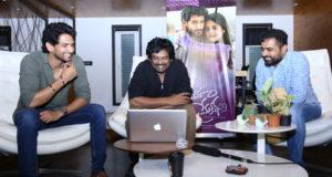 Ananganaga O Prema Kadha First Song Launched by Director Puri Jagannadh