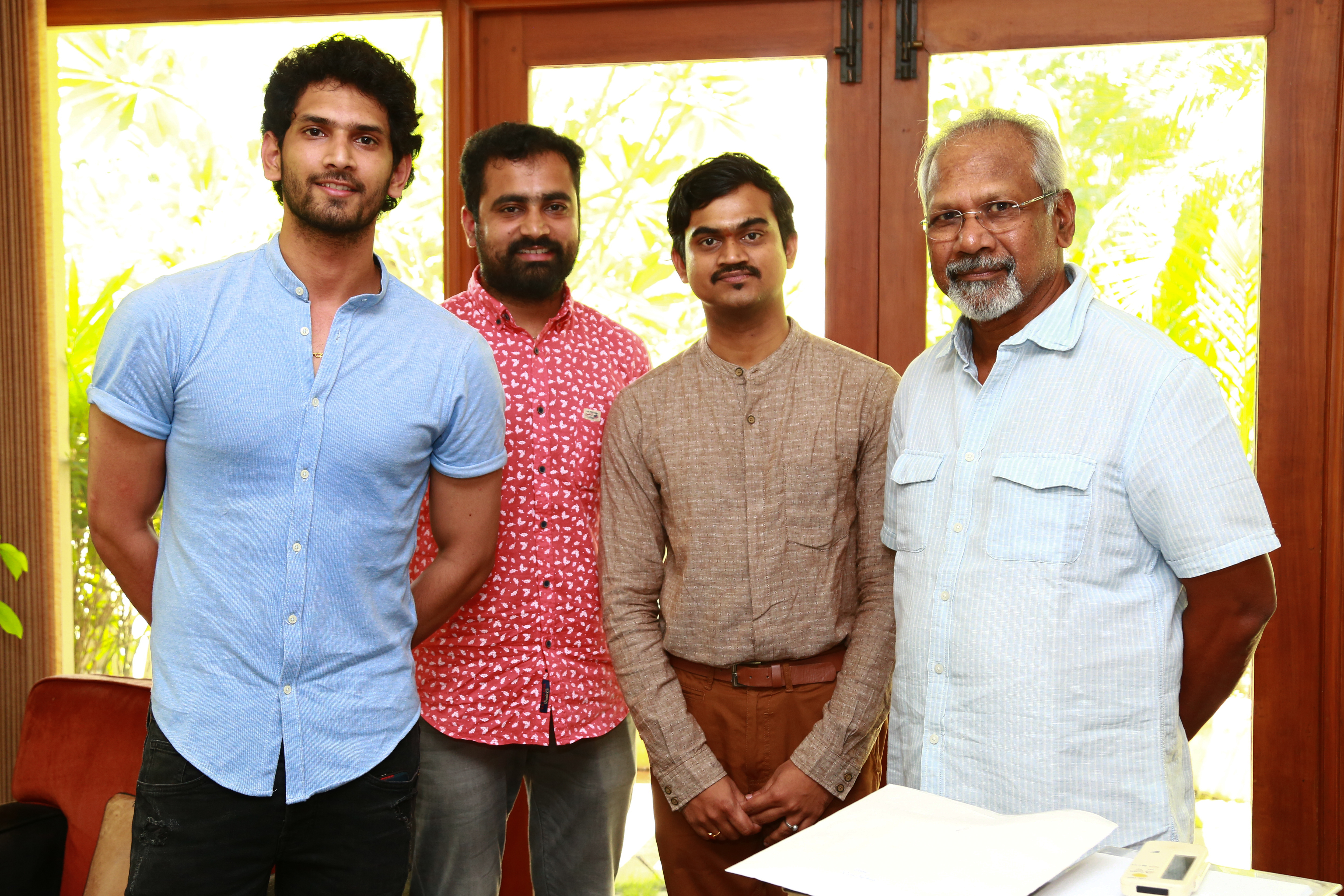Love Ante Nenele Song Launched By Director Shri Maniratnam