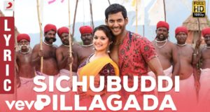 Sichubuddi Pillagada Telugu Lyrical song from Vishal Pandem Kodi 2