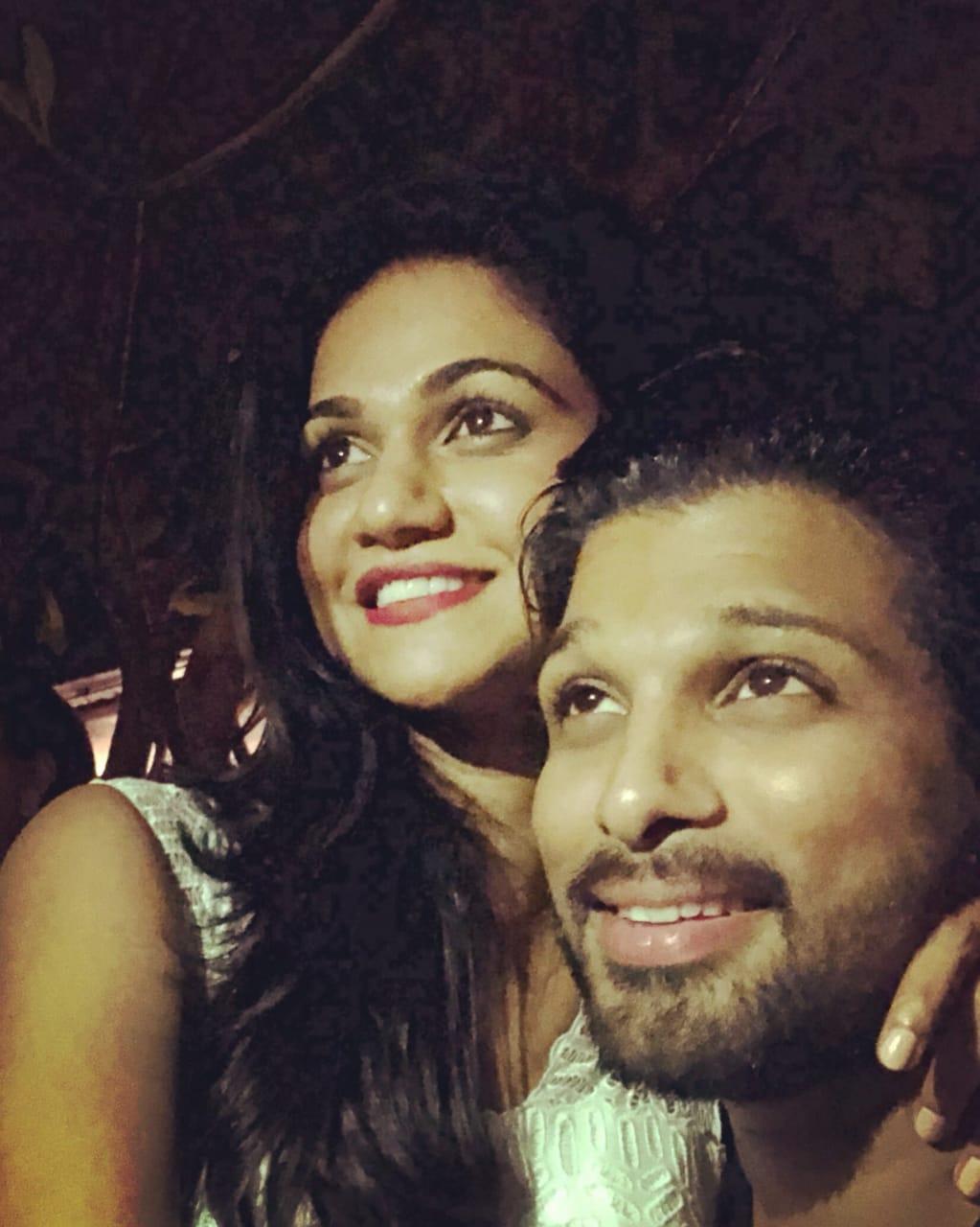 Stylish Star Allu Arjun is King, Sneha Reddy is Queen Of Social Media