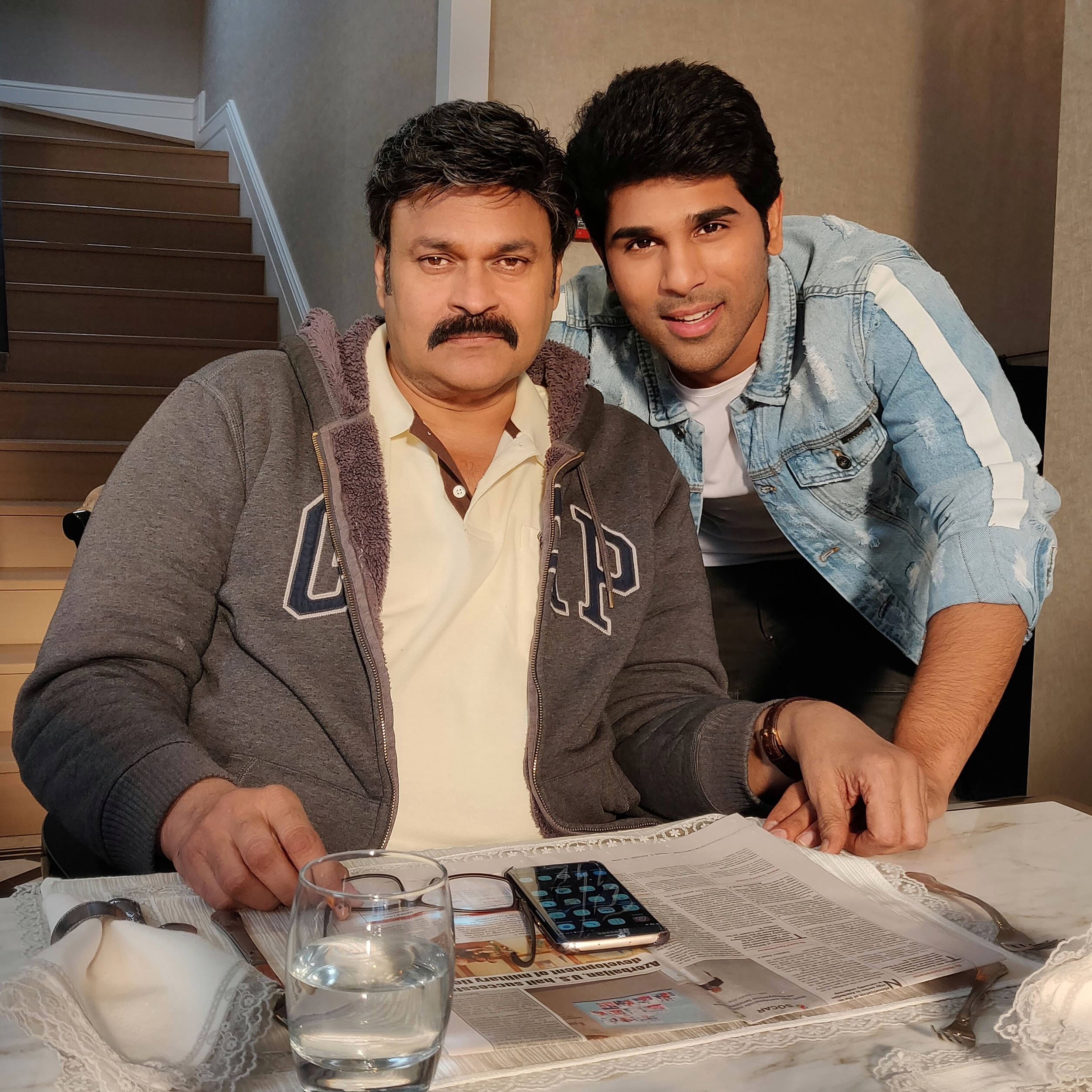 Real life Uncle becomes reel life father for Allu Sirish