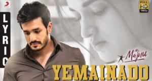 Yemainado Lyric VideoTelugu from Mr Majnu, Akhil Akkineni, BVSN Prasad, Thaman S, Venky Atluri