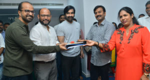 Raviteja VI Anand Ram Talluri DiscoRaja was kick-started on the eve of Mahasivarathri.