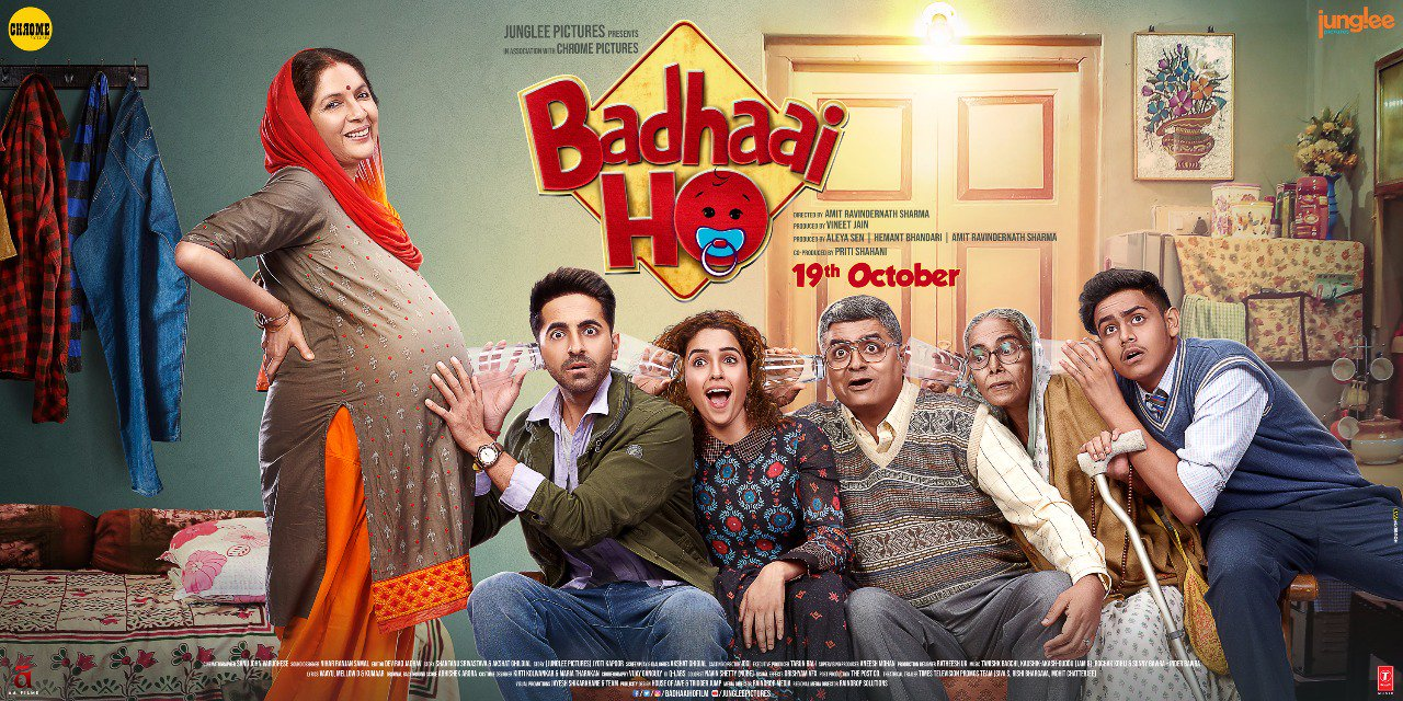 Boney Kapoor buys the remake rights of the blockbuster Badhaai Ho ! for all South Indian languages.